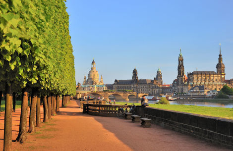 Parkanlage  Dresden - © World travel images/Fotolia.com