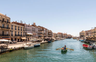 Kanal in Sete - © dietwalther/Fotolia.com