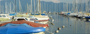Abends am Genfersee - © forelle66/Fotolia.com
