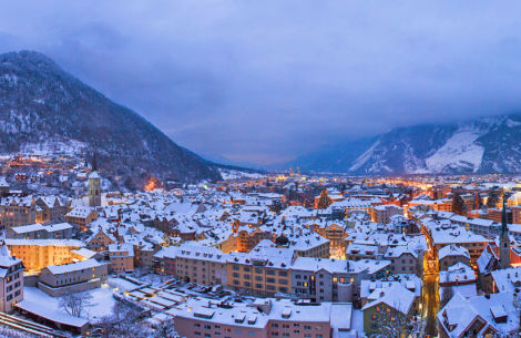 Winter in Chur - © Bastian/Fotolia.com