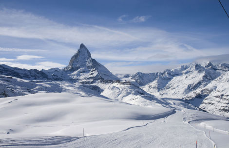 Panoramic view with Matterhorn  - © [P4:]_GoFurther/Fotolia.com