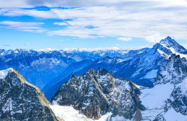 Blick vom Berg Titlis - © photogearch/Fotolia.com