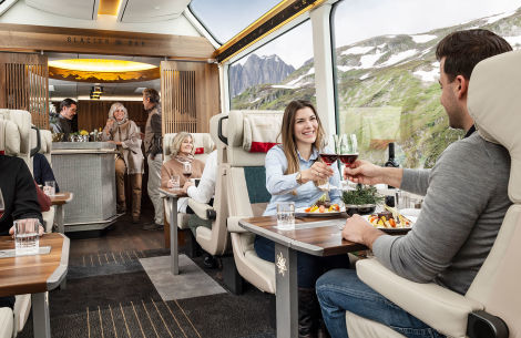 Excellence Class im Glacier Express